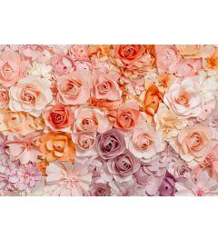 Roses 8-part Wall Mural 366x254cm