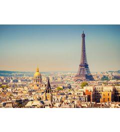 Paris Eiffel Tower 8-part Non-Woven Wall Mural 366x254cm