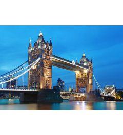 Londen Tower bridge 8-part Non-Woven Wall Mural 366x254cm