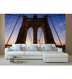 Brooklyn Bridge USA Wall Mural 4-parts 368x254cm