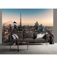 Dubai United Arab Emirates Wall Mural 4-parts 368x254cm