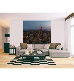 New York City USA Wall Mural 2-parts 184x254cm