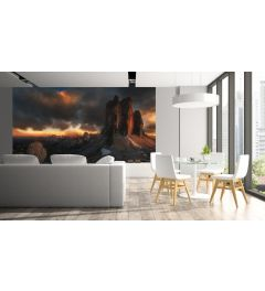 Dolomites Italy Wall Mural 4-parts 368x254cm