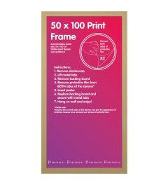 Frame 50x100cm Oak - MDF