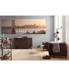 San Francisco Skyline 2-part Non-Woven Wall Mural 368x124cm