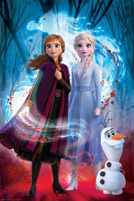 Frozen 2-guided Spirit-Poster Poster-Size 61x91,5 cm